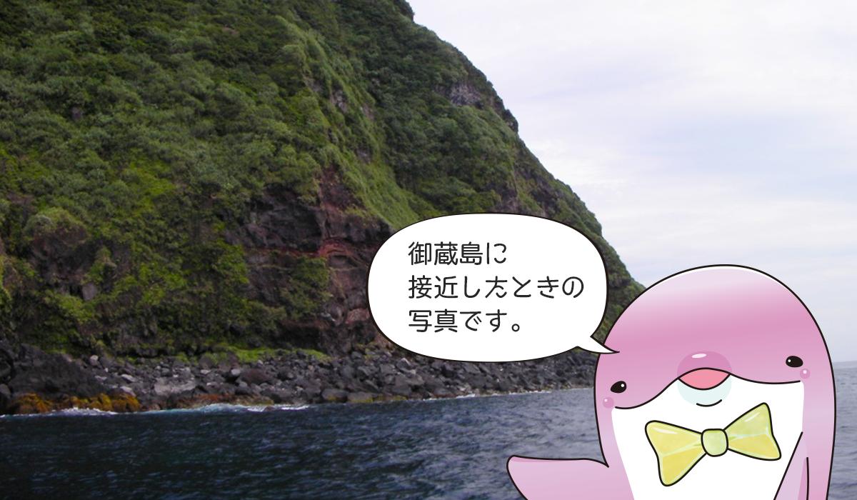 御蔵島の自然