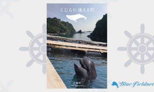 「くじらに逢える町」和歌山県太地町PRポスター(2018年海と日本PROJECT主催「うみぽす」入賞作品)
