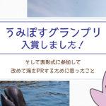 【うみぽすグランプリ2018】入賞しました!そして表彰式に参加して改めて海をPRするために思ったこと
