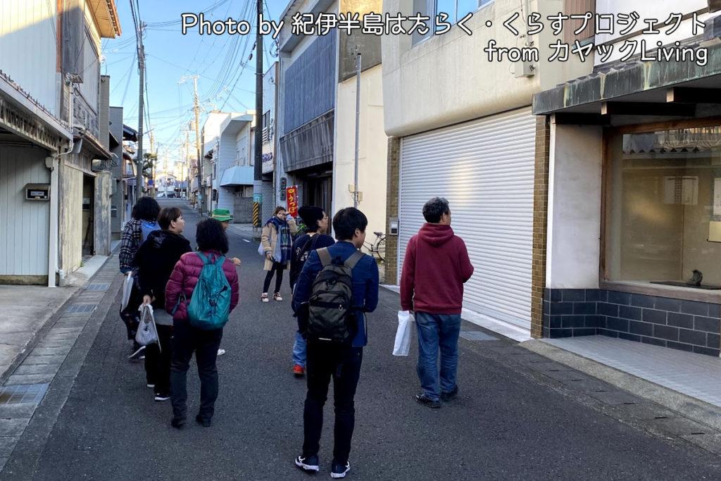 田辺市の街歩き